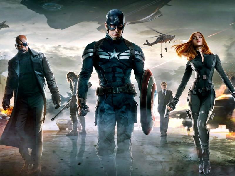 первый мститель капитан америка полный фильм
